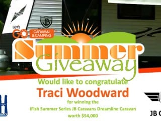Winner IFish Summer Series JB Caravan